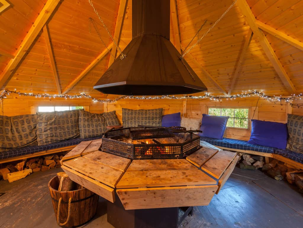 luxury glamping in hartland