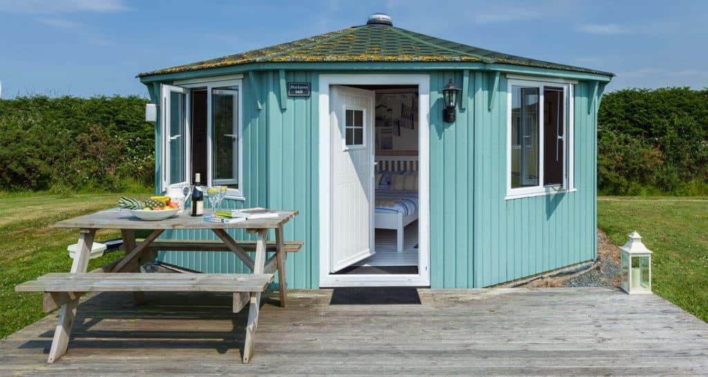 Luxury Glamping Cabins in North Devon